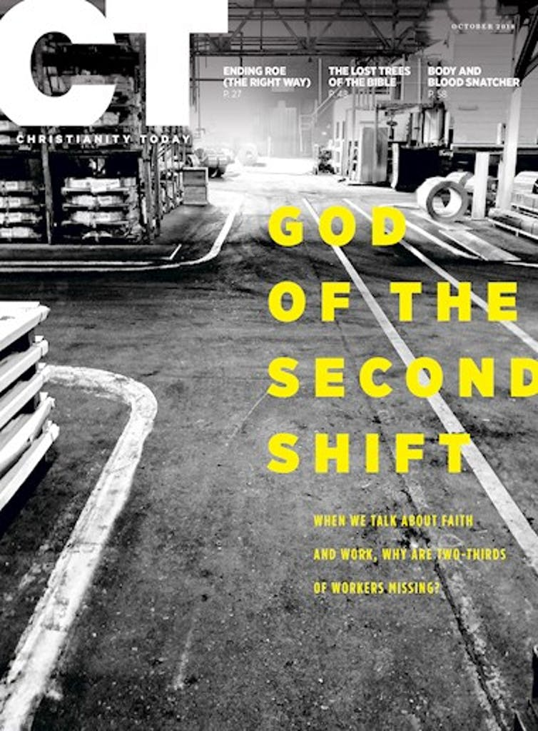God of the Second Shift Cover