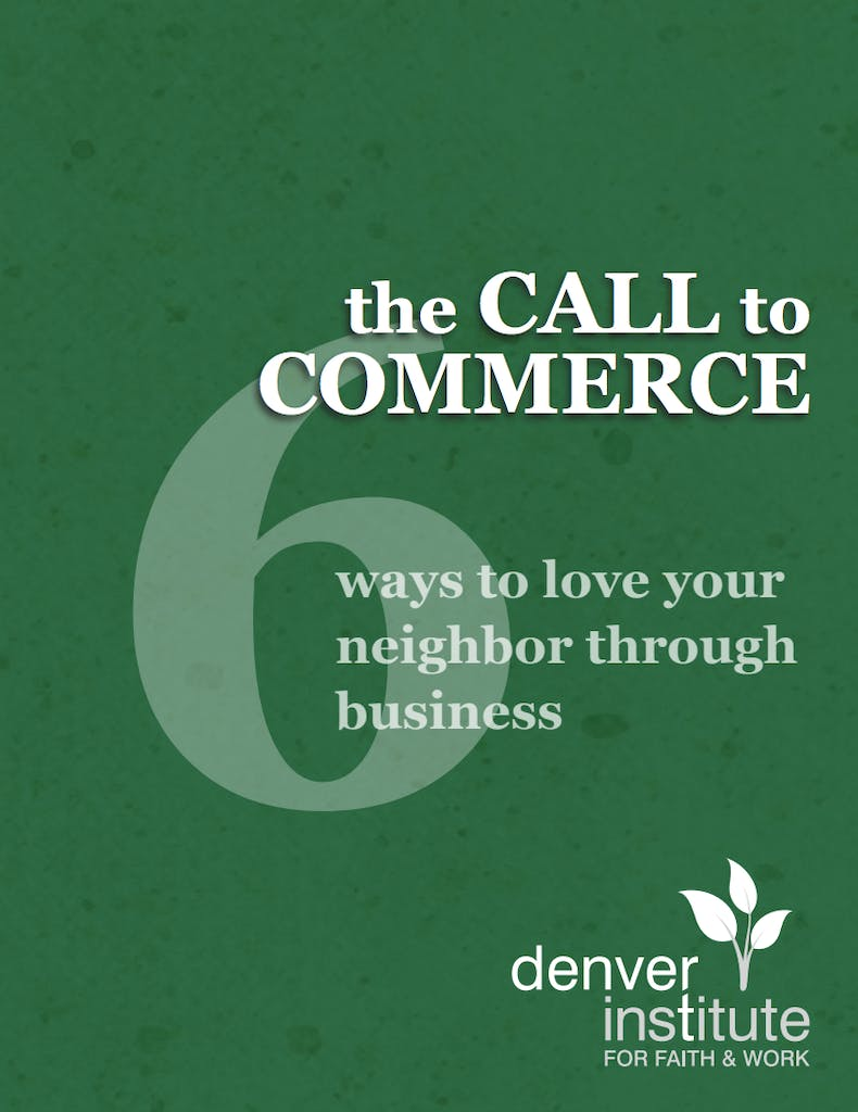 The Call to Commerce